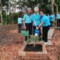 ร่วมกิจกรรมปลูกป่าทดแทนเพื่ออนุรักษ์ป่าไม้ให้ยั่งยืน ณ ศูนย์ราชการุณย์ สภากาชาดไทย จังหวัดตราด