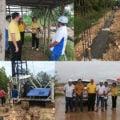 โครงการงานจ้างก่อสร้างรั้วบล็อกทึบ สูง 2 เมตร ยาว 380 เมตร พื้นที่สาธารณประโยชน์หนองแด จังหวัดอุดรธานี