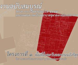 ผังแม่บท 2555 โครงการที่ 1 พื้นที่ฝั่งตะวันออกถนนอังรีดูนังต์