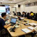 ประชุมคณะทำงานและประชุมตรวจการจ้างโครงการจัดทำแบบจำลองสารสนเทศสภากาชาดไทย BIM งวดที่ 3