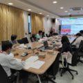 ประชุมคณะทำงานโครงการปรับปรุงผังแม่บทศูนย์ราชการุณย์ สภากาชาดไทย เขาล้าน จังหวัดตราด